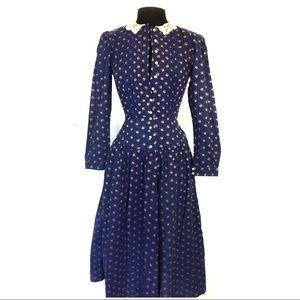 Lanz Originals Vintage Prairie Style Dress